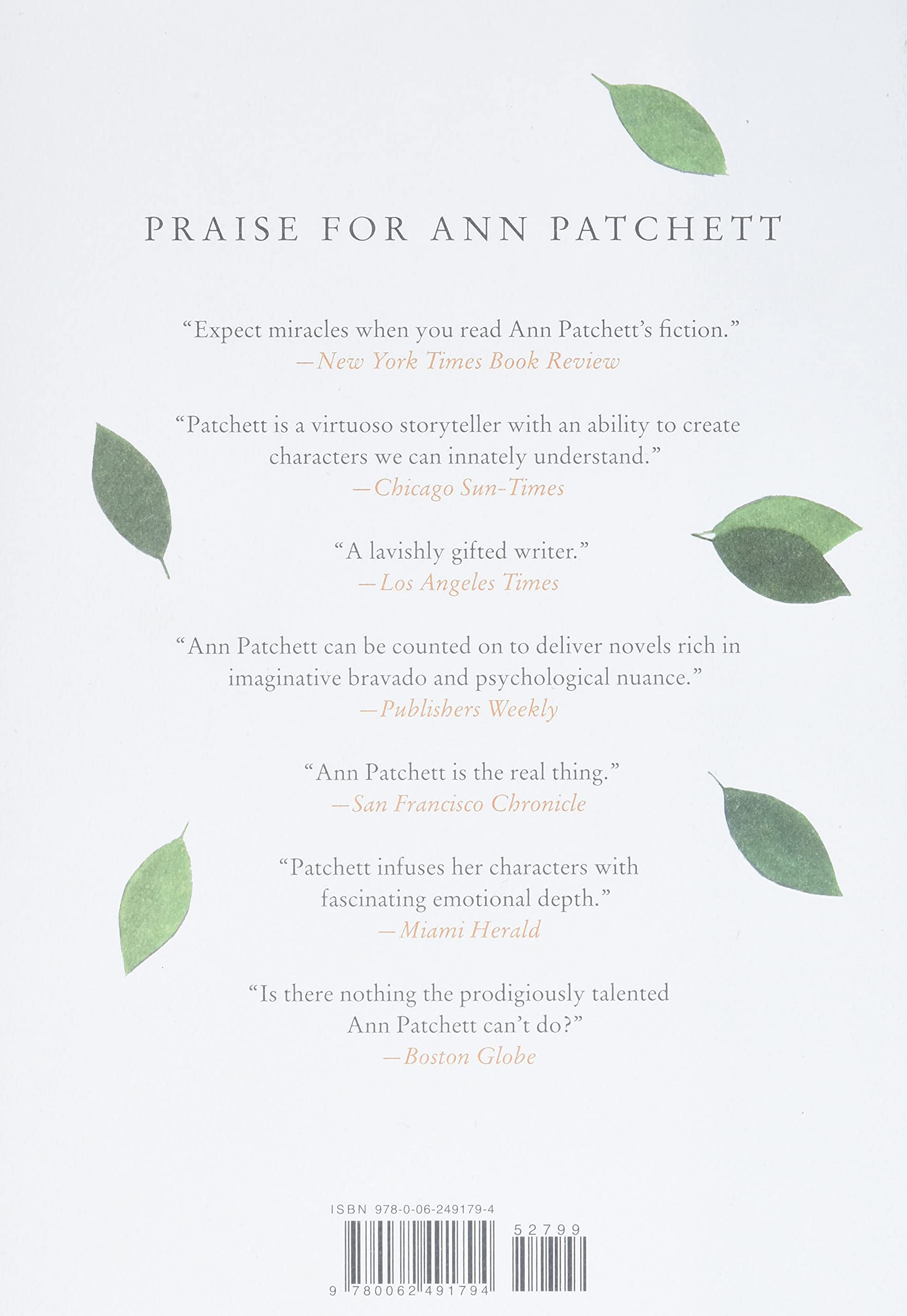 Commonwealth  Patchett, Ann Amazon.de Bücher