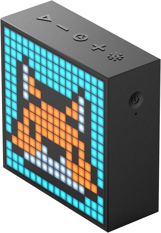 Divoom Timebox-Evo Pixel Art Bluetooth Lautsprecher mit Programmierbares 256 LED Panel 1