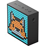 Divoom Timebox evo Portable Bluetooth Pixel Art Speaker with 16 * 16 Mobile App Programmable LED Panel and a alarm clock (Black)