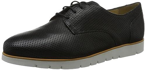 Geox D Shahira a, Zapatillas para Mujer, Negro (Black), 35 EU