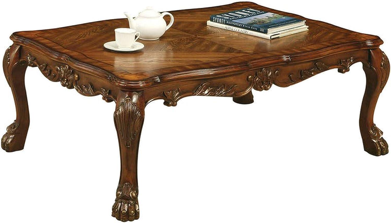 - Amazon.com: Benjara Dresden Coffee, Cherry Oak Tables, One Size