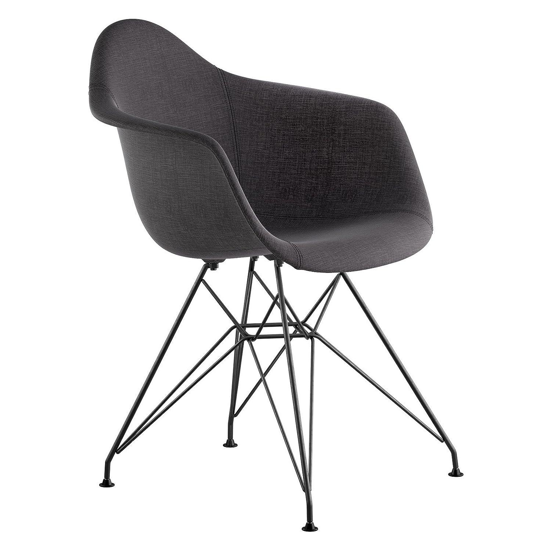 Milano Black NyeKoncept 332009EM3 Mid Century Eiffel Arm Chair