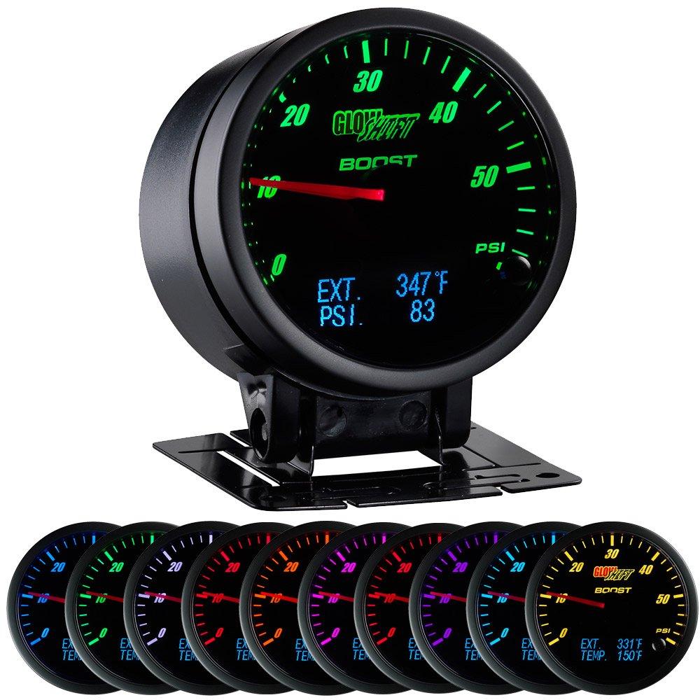 3 in1 Negro Cara Boost, Digital pirómetro, y medidor de presión: Amazon.es: Coche y moto