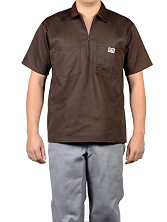 Ben Davis 11550 50/50 Hombre Manga Corta Camisa De Trabajo: Amazon ...