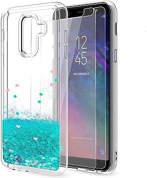 LeYi Compatible with Funda Samsung Galaxy A6 Plus 2018 Silicona ...
