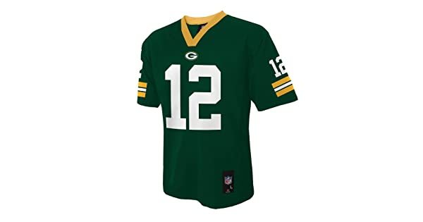 comNFL Green Bay Packers Aaron Rodgers Boys 4-7 Mid-Tier Jersey 8ad182070