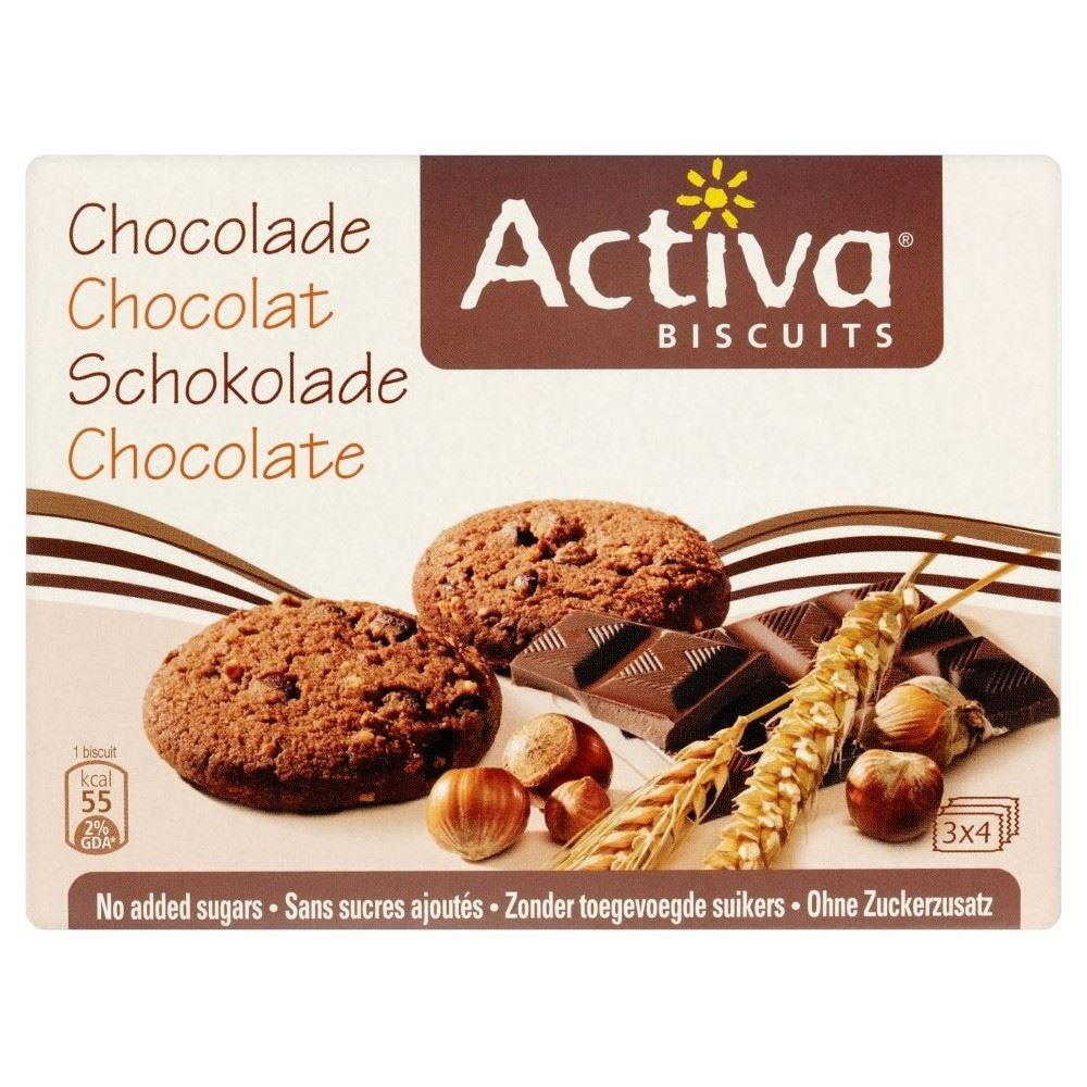 Activa Sugar Free Chocolate Cookies (160g) Groceries