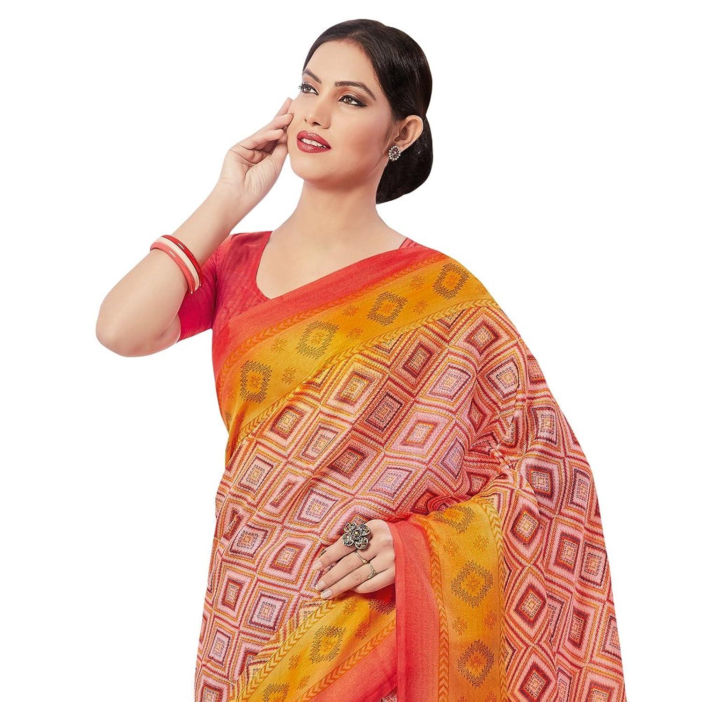 applecreation silk cotton saree sarees 5prm18007 pink amazon