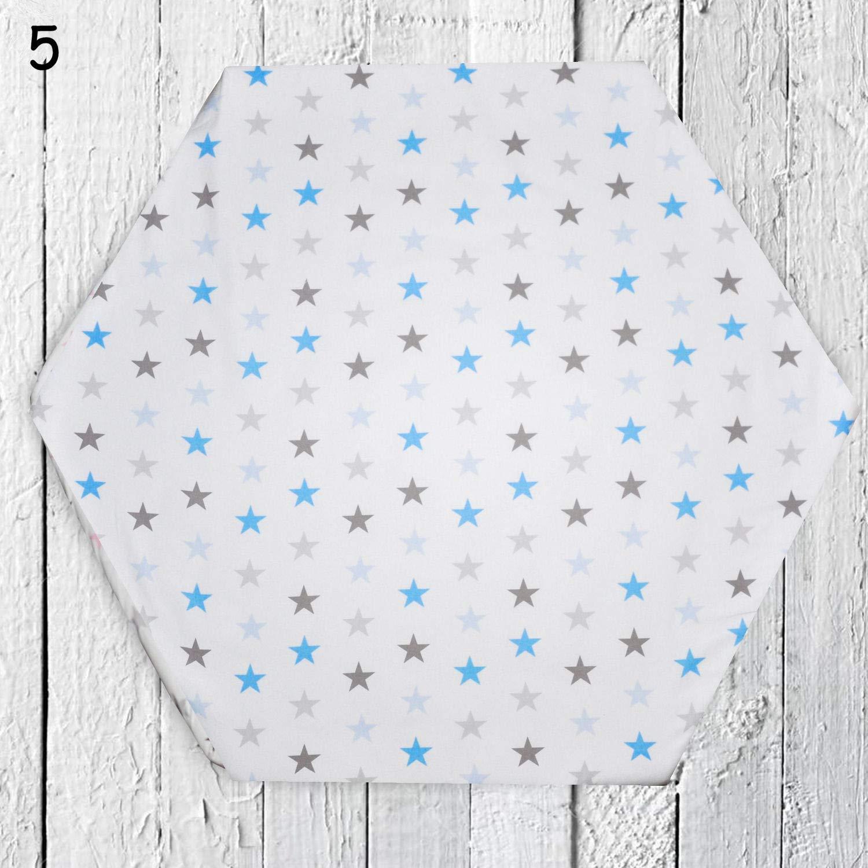 FabiMax BIO-Baumwolle Jersey Spannbettlaken f/ür Laufgitter 75x100 cm blau
