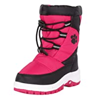 Rugged Bear Girls Snow Boots with Paw Print (Toddler, Little Kid, Big Kid)