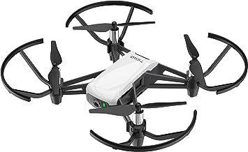 Ryze Dji Tello Mini Dron Ideal para Videos Cortos con Tomas EZ, Gafas VR y Compatibilidad con Dispositivos de Juego, Transmisión HD de 720p y Alcance ...