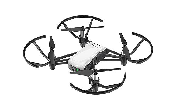 Ryze DJI Tello - Mini-Drohne ideal für kurze Videos mit EZ-Shots, VR-Brillen und Gamecontrollern kompatibilität, 720p HD-Über