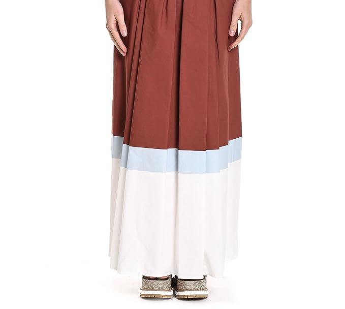 219ba8fa1e MANILA GRACE Gonna - Donna Multicolor 40: Amazon.it: Abbigliamento