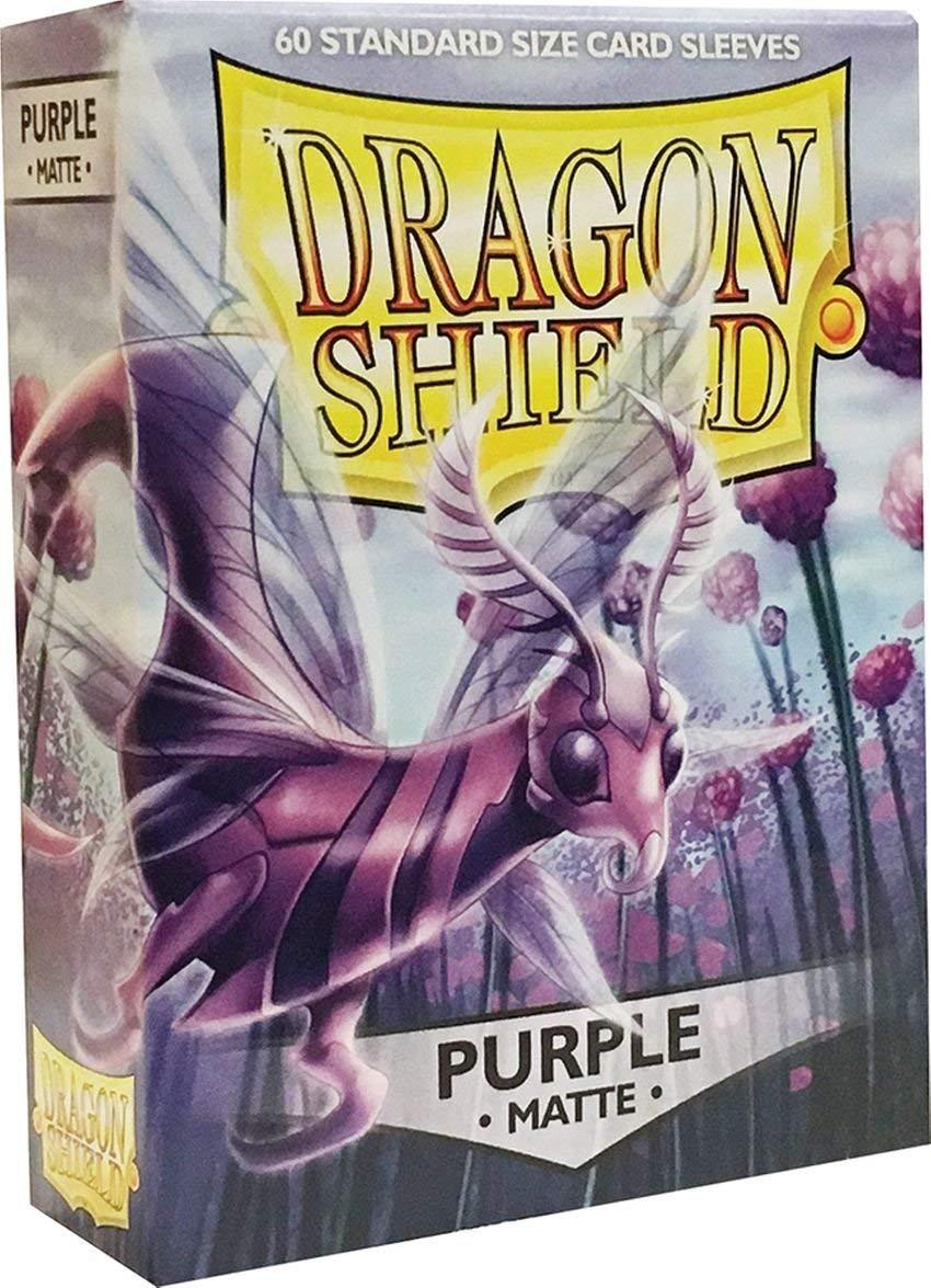 Arcane Tinman Sleeves  Dragon Shield Matte Purple (60)