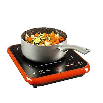 Amazon De Kochplatte Elektrisch Einzeln Einzelkochplatte Induktion