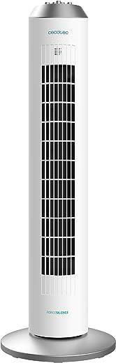 "Cecotec ForceSilence Skyline zuilventilator mechanisch 33"" wit"