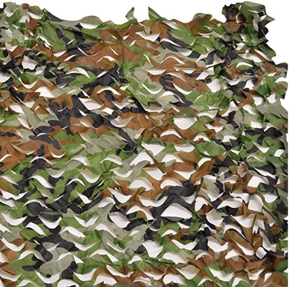 迷彩ネット屋外日焼け止めネットカーガーデン釣りRoofWoodland迷彩ネット迷彩ネットキャンプ狩猟シェードネッティングシェードカバーブラインドミリタリーアーミーシューティング隠す ZHAOFENGMING (Color : 緑, Size : 8M×10M) 緑 8M×10M