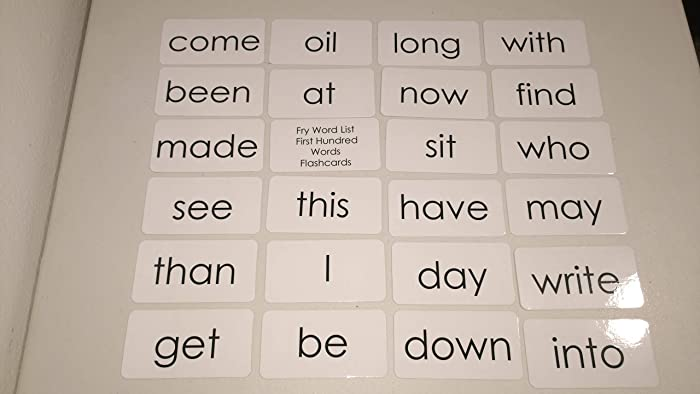 photo regarding Fry Phrases Printable named 100 Fry Very first Hundred Laminated Sight Phrase Flashcards.