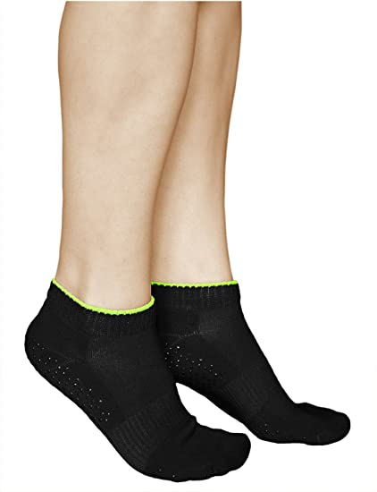 Cushioned Anti Slip Trainer Socks