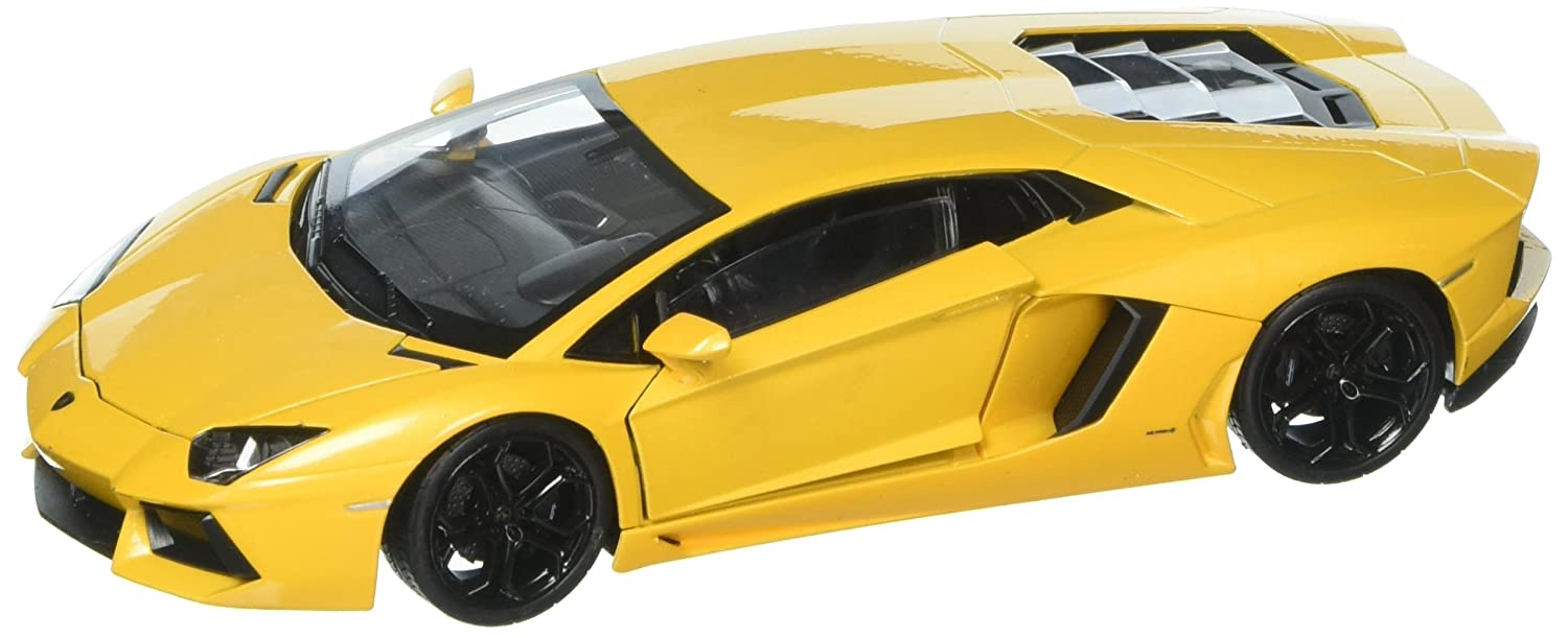 Welly Collection 1 24 Lamborghini Aventador LP 700 4 Diecast Model Sport Car Yellow