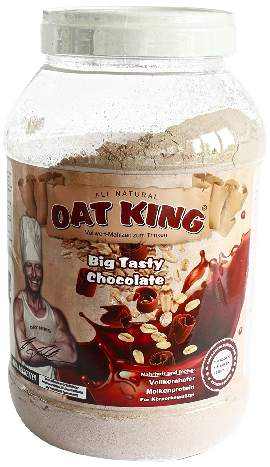 LSP Oat King Oats & Whey Protein Drink Big Tasty Chocolate - 1980 gr: Amazon.es: Salud y cuidado personal