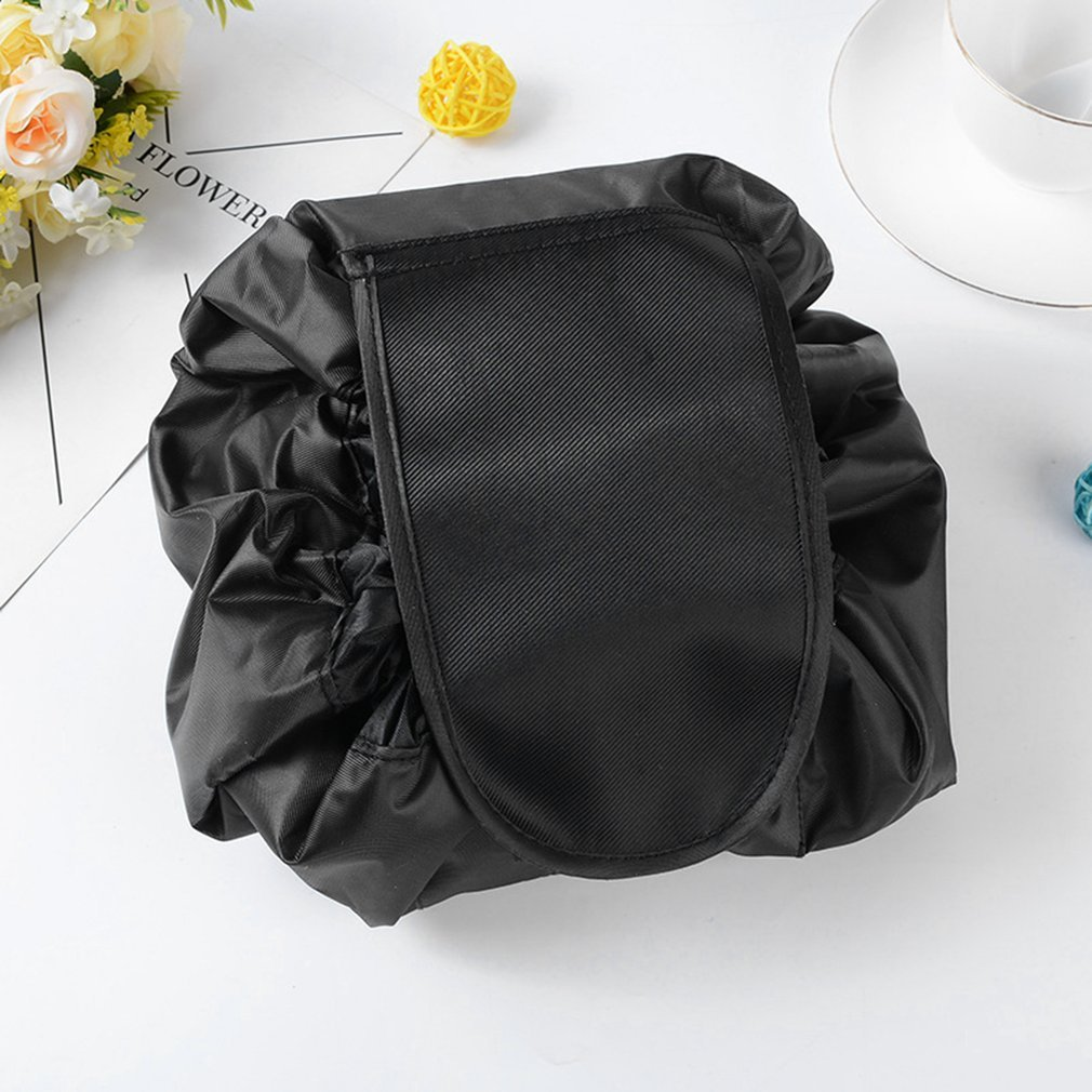 Naisidier Fashion Waterproof Large Capacity Quick Drawstring Makeup Jewelry Storage Bag Quick Drawstring Health Beauty