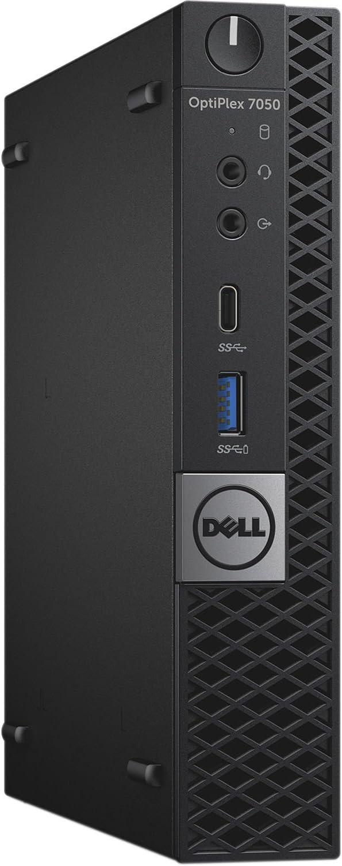 Dell OptiPlex 7050 Micro Form Factor Desktop, Intel Core i3, 16GB RAM, 256GB SSD, Win10 Pro. (Renewed)