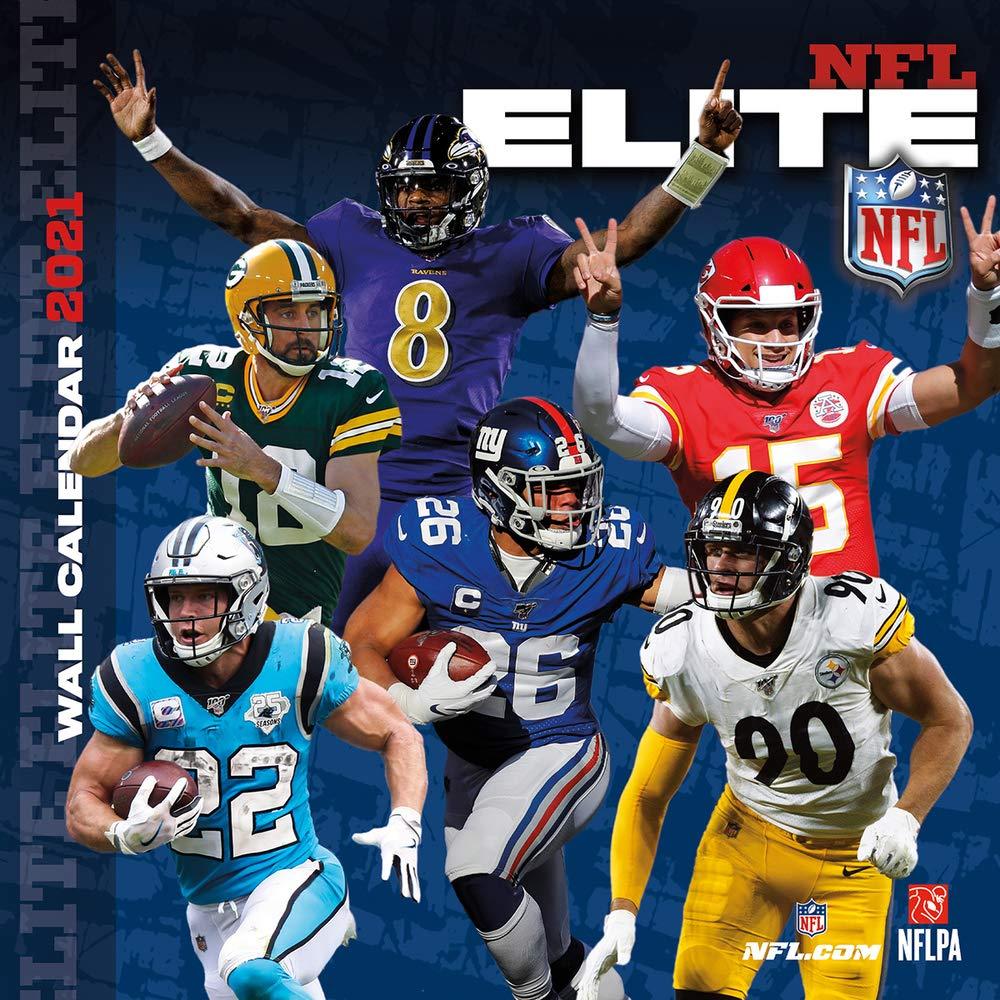NFL Elite 2021 Calendar: Lang Companies, Inc.: 0841622144853