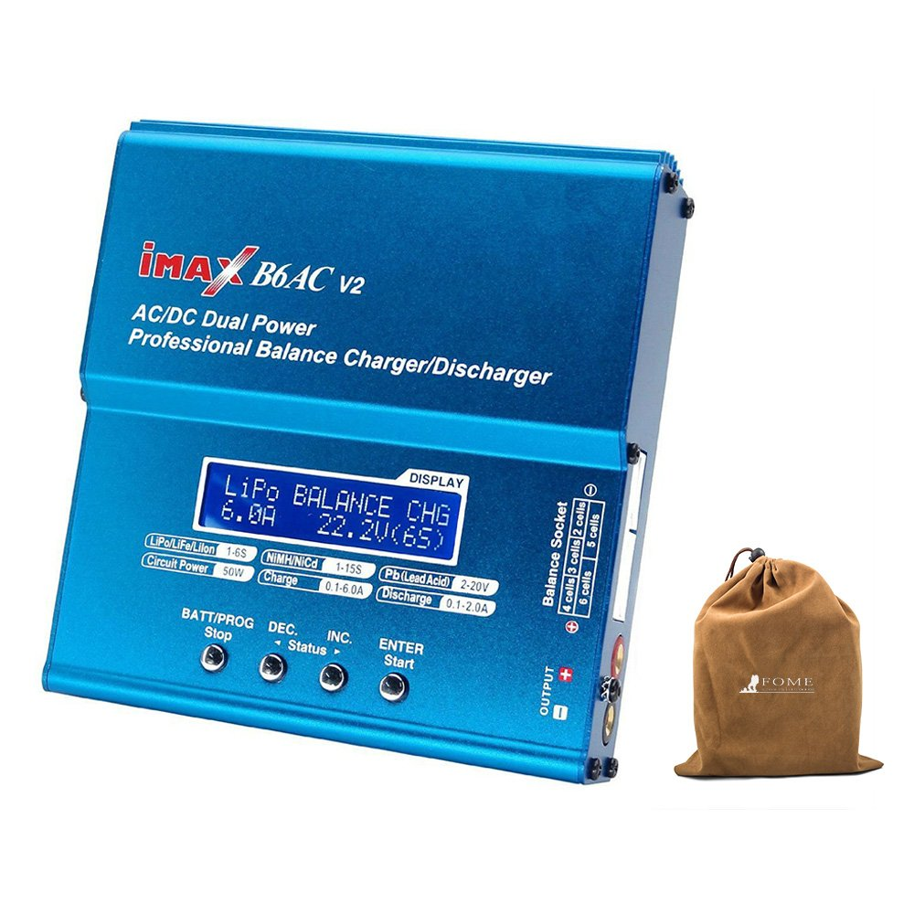 Skyrc Imax B6 Professional Rapid Lipro Balance Charger Rc Pro Multifunctional Discharger Easy To Use Aluminium Alloy Shell For Multi Axis Aircraft Car Model