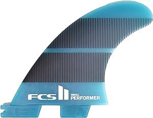 FCS II Performer Neo Glass Tri Fin Set - Blue Gradient
