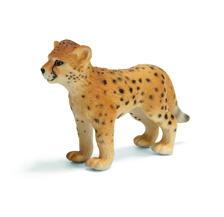 Schleich Wild Life Gepardin Gepard Raubkatze Raubtier Spielfigur 10 cm 14746
