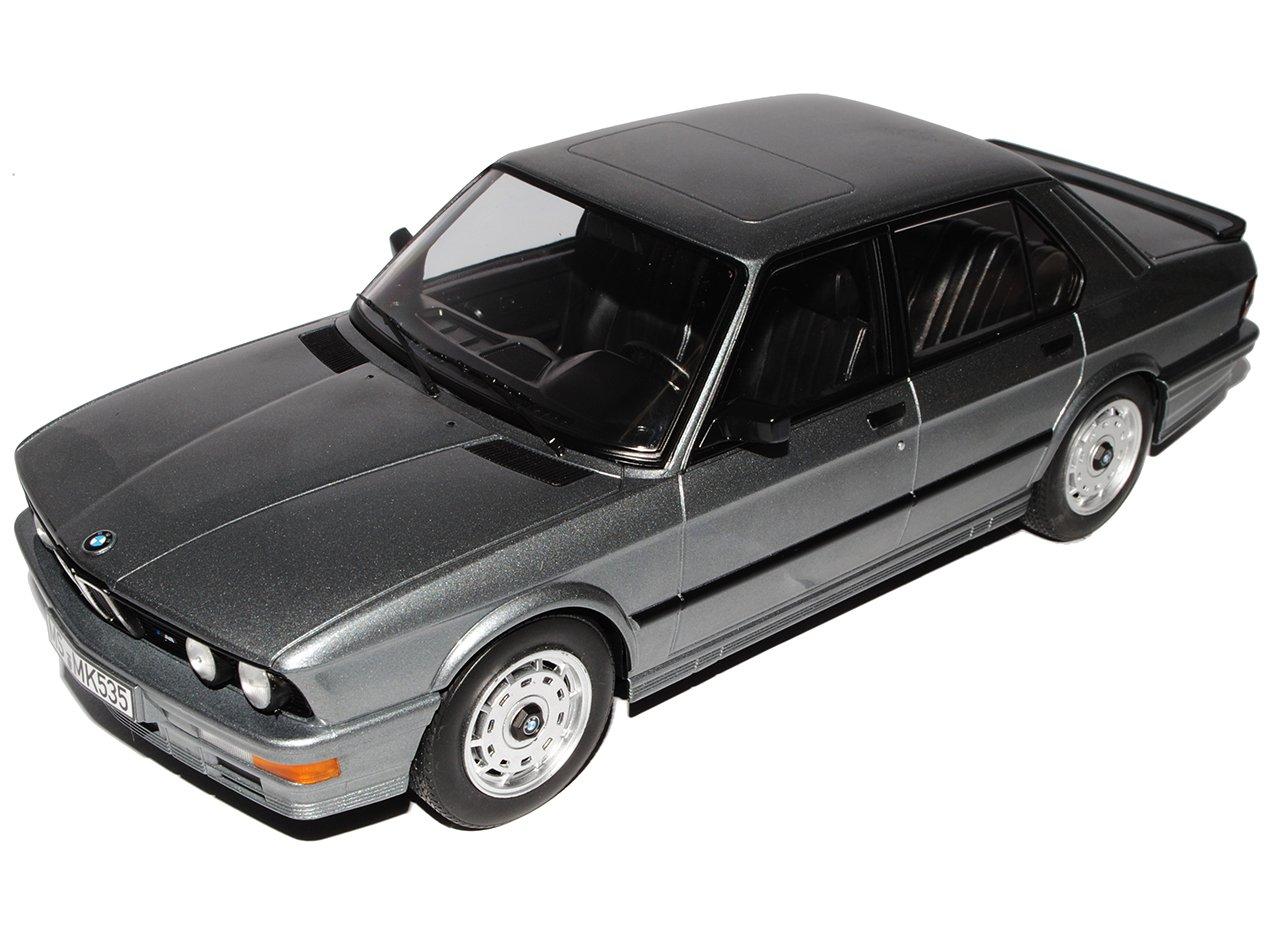 BMW 5er E28 Limousine Silber Grau 1981-1987 H0 1//87 Herpa Modell Auto mit oder..