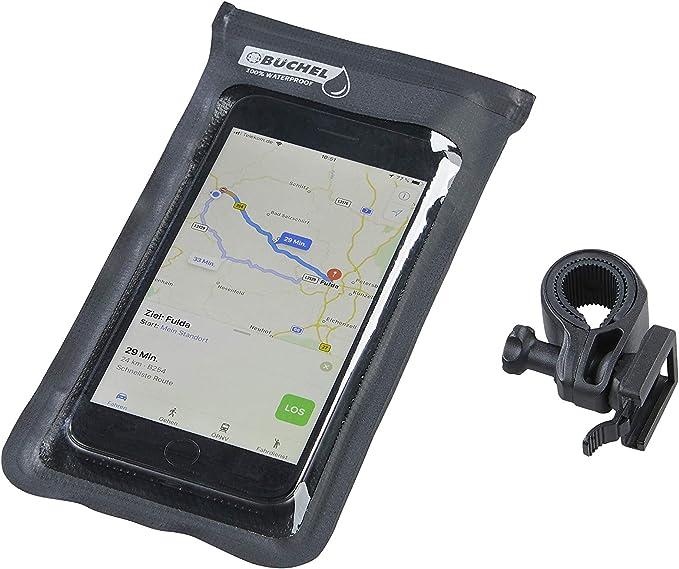 Büchel 81530002 - Funda Impermeable para Smartphone, Color Negro ...