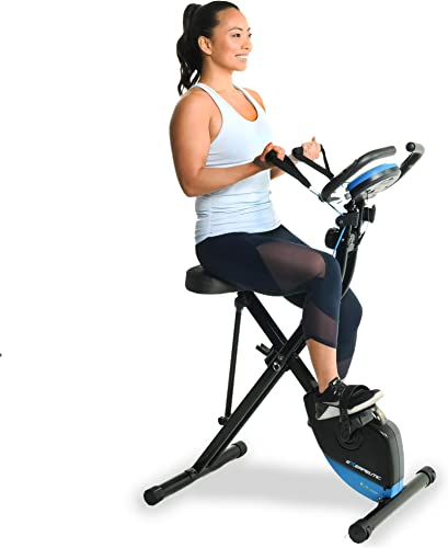 Exerpeutic Bluetooth Smart Foldable Bike