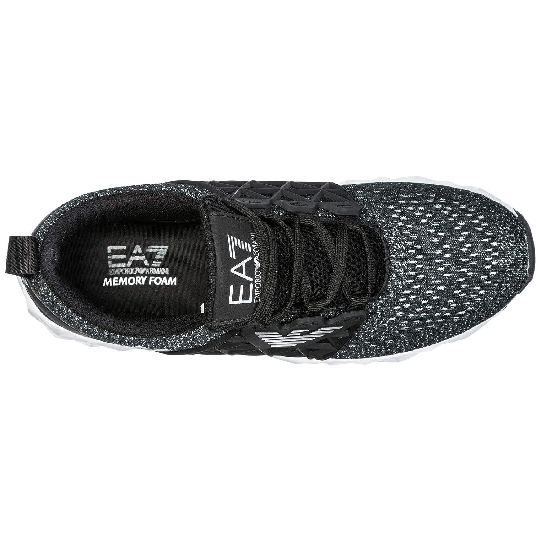 Emporio Armani EA7 Scarpe Sneakers Uomo Nuove Originale Memory Foam Nero EU  43.13 X8X017XK02100184  Amazon.it  Scarpe e borse 899d9025a89