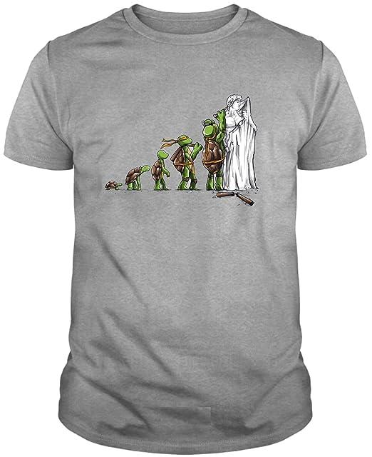 The Fan Tee Camiseta de NIÑOS Tortugas Ninja Retro Dibujos ...