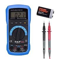 CLY Digital Multimeter Auto range Muititester Messung für AC/DC Spannung Strom Widerstand Diode Kontinuität Temperatur mit Hintergrundbeleuchtung