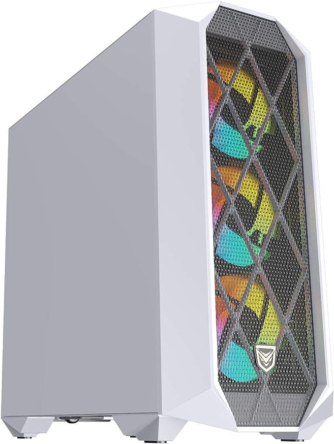 Nfortec Synistra Gaming Tower Atx 3 0 Rgb Mit Vorderem Computer Zubehör