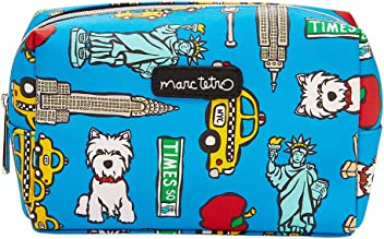 MARC TETRO CITY DOGS COSMETIC BAGS