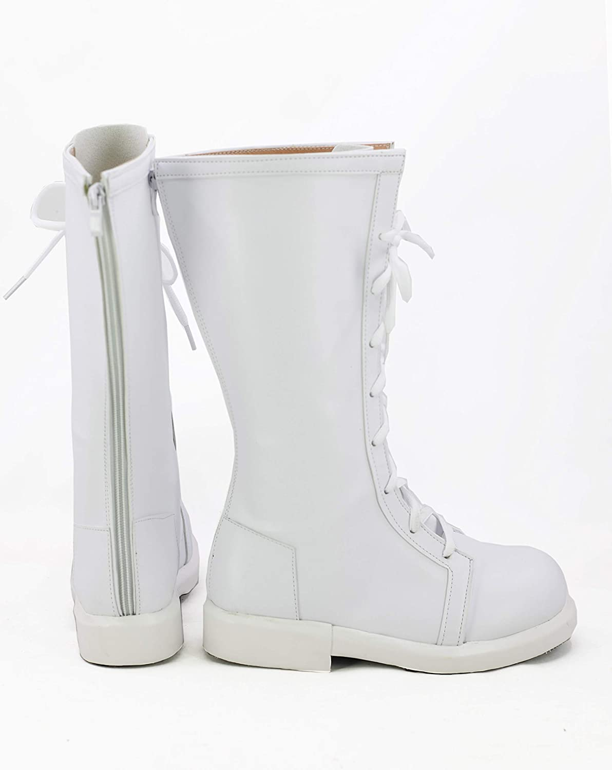 Cells at Work Anime White Blood Cell Cosplay Shoes Boots Custom Made
