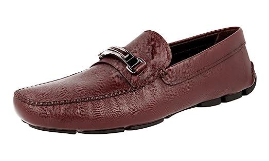 Men's 2DD130 053 F0403 Saffiano Leather Business Shoes