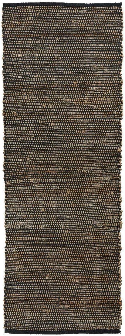 IB Laursen - Alfombra (algodón, Yute, 180 cm), Color Negro: Amazon ...