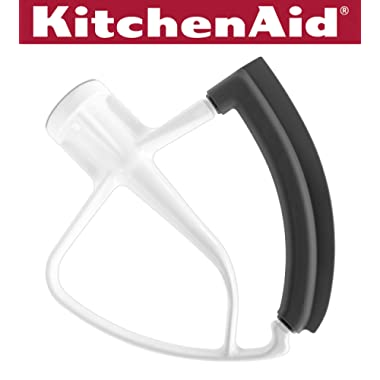 KitchenAid KFE5T Tilt Head Flex Edge Beater, White