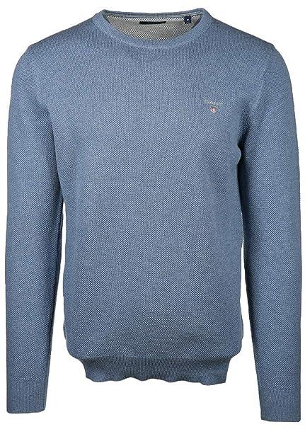 new style ef56f dc4d2 GANT Herren Cotton Pique Crew Pullover