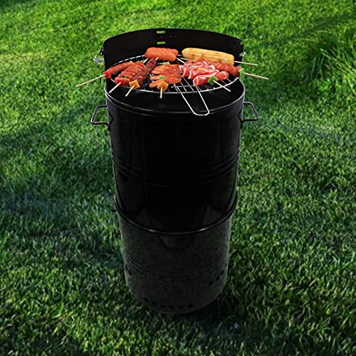 CMI Multi-Function Barbecue and Charcoal Smoker Grill 20-Inch