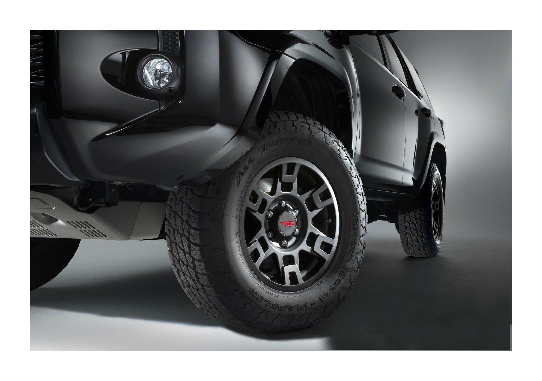 TOYOTA GENUINE PTR20-35110-BK Black Wheel 4RUNNER SE17 Flt 17″ TRD PRO RIMS