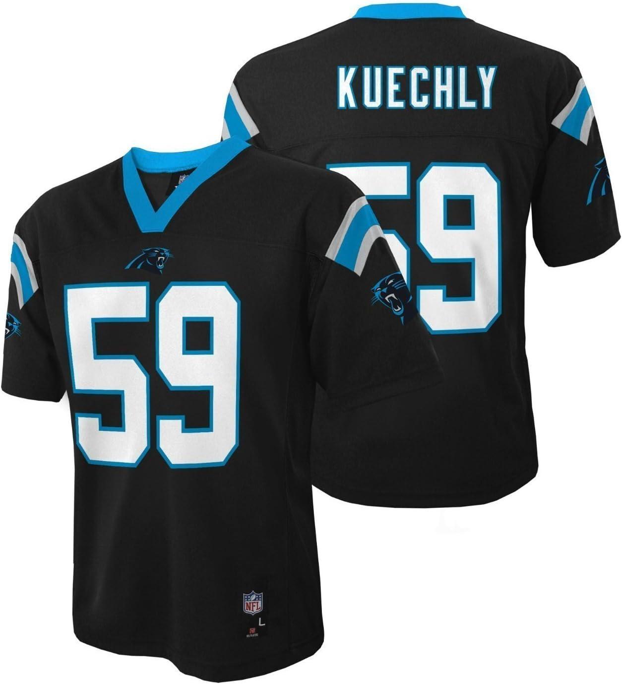 Outerstuff Luke Kuechly Carolina Panthers Infant/Baby Black Jersey
