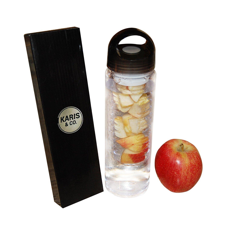 【激安セール】 水ボトル茶漉by Karis & Co。 Perfect/再利用可能な、BPAフリー MintまたはApple、Fruit e-recipe Infusion Drinkingのフラスコスポーツ、練習、ジム、クロスフィット、ヨガ&重量損失/ Perfect for drinks with MintまたはApple/ e-recipe Book B01N1WJG17, ナチュラスサイコス:02766574 --- a0267596.xsph.ru