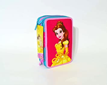 Seven - Princesas Disney - Estuche para colores de La Bella ...