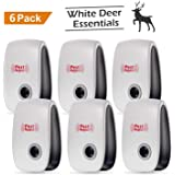 SOMEG Ultrasonic Pest Repeller | Electronic Indoor Pest Control (6 Pack) - Plug in Bug Repellent for Rodent & Insects, Rats, Mice, Ants, Roaches, Spiders, Insects. Chemical-Free, no Refills